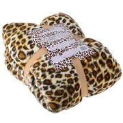 Leopard Print Throw