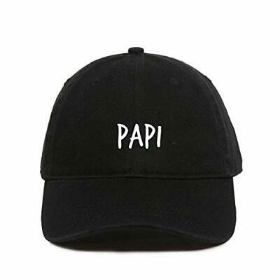 Papi Daddy Baseball Cap Embroidered Cotton Adjustable Dad Hat