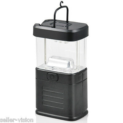 11 LED Portable Camping Torch Battery Operated Lantern Night Light Tent Lamp