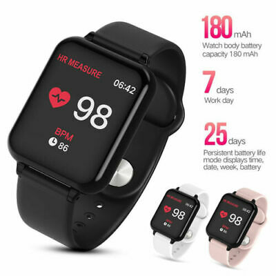 Sport Smart Watch IP67 Waterproof Watch Heart Rate Monitor B