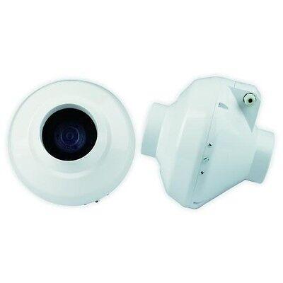 Rohrventilator 250m³/h 100mm Lüfter von Ventilution Rohrlüfter Lüfter Abluft - 100-mm-lüfter