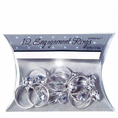 Engagement Ring Party Favors (Amscan International Favour Engagement Rings, Pack of)