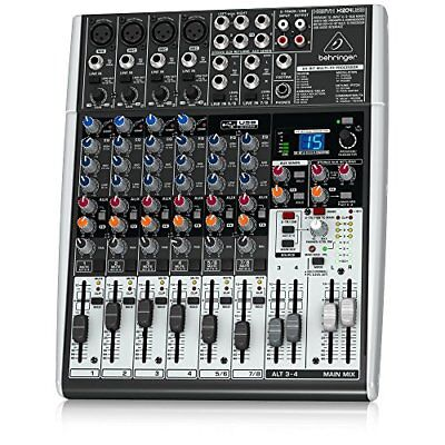 Behringer Xenyx X1204USB Premium 12-Input 2/2-Bus Mixer+USB Interface BEST