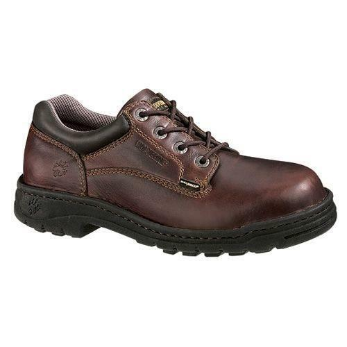 Beautiful Michigan Industrial Shoe | HyTest Steel Toe Opanka Oxford For Women | Michigan Industrial Shoe