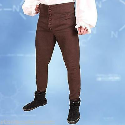 Replica Assassins Creed Costume (Licensed Assassins Creed II Museum Replicas Ezio Pants Brown Button-Up)