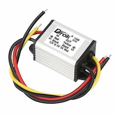 12v To 5v Volt Converter Drok Dc Voltage Regulator Board Power Supply Module ...