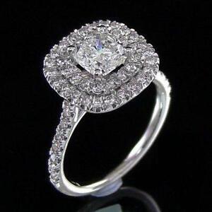 Cushion Cut Diamond Ring Ebay