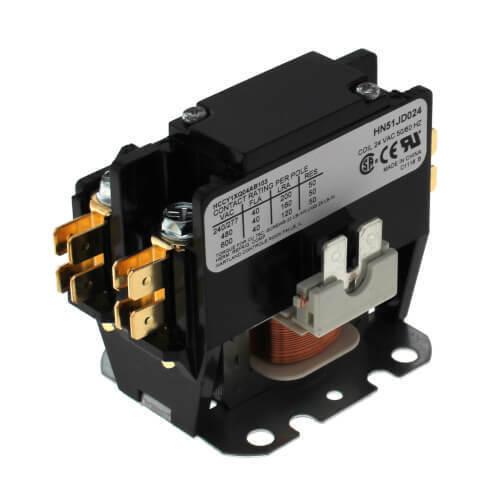 Carrier HN51JD024 - Contactor, Single Pole, 24V, 40 Amp