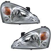 Suzuki Aerio Headlight
