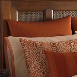 Rust Pillow Shams Ebay