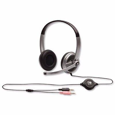 Logitech 980369-0403 Premium STEREO Headset w/Microphone & Volume Control segunda mano  Embacar hacia Mexico