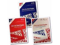 LIFE IN UK TEST 3 BOOKS SET BRITISH CITISENSHIP