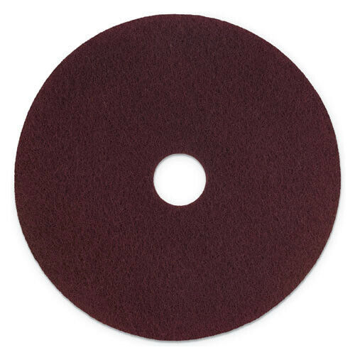 Scotch-Brite SPPP17 5/CT 17 in. dia. Surface Preparation Pad Plus - Maroon New