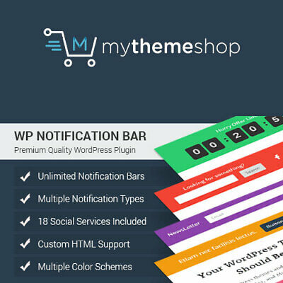 Notification Bar Pro Wordpress Plugin Version 2020
