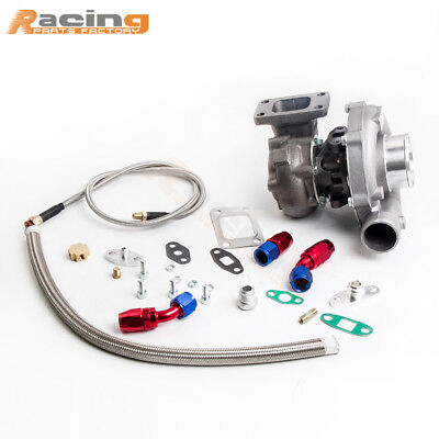 T3T4 T04E TURB0CHARGER STAGE3 TURBO OIL LINE FOR FOCUS ESCORT PROBE MX 6 TAURUS