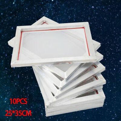 10 Pack Silk Screen Printing Machine Press Frame Kit Set For Diy T-shirt Printer