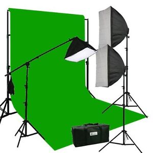 1150w Photo Video Continuous Lighting Studio Kit - Brand New!