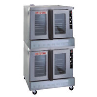 New Blodgett Zephaire-100-G Double Deck Convection Oven