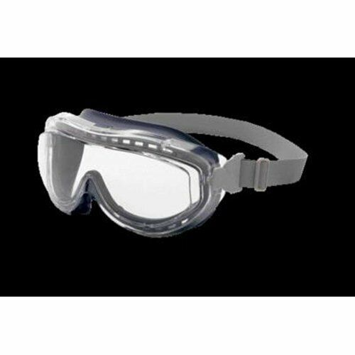 S3420X Uvex Flex Seal Safety Goggles Clear Anti-Fog Lens Grey Frame Business & Industrial