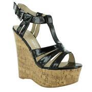 Wooden Platform Sandals