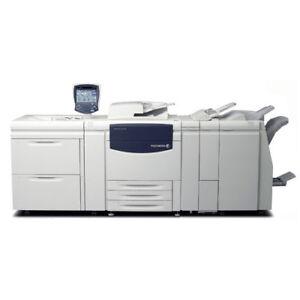 Xerox 770 700i Digital Color Press Print Shop Printing System