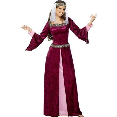 Smi - Karneval Damen Kostüm Lady Marian Mittelalter - Lady Marian Kostüme