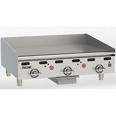 (Vulcan MSA36-2 Commercial Griddle - Heavy Duty, LP Gas, 36