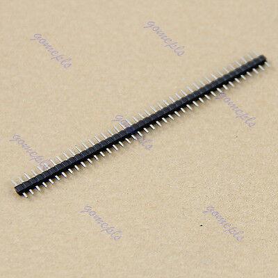 Hot 10pcs 40 Pin 2.0mm Single Row Pin Male Header For Arduino Prototype Shield