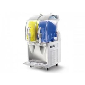 __Italian MECHANICAL SLUSH MACHINE - MOD. IP2 Meccanica - 2X11 Ltr TANK.,_--come fast ,,,boost sale_