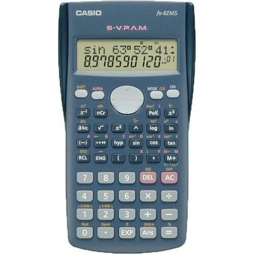 Casio fx-82MS rekenmachine