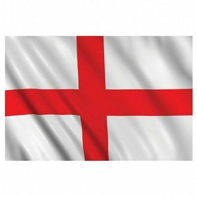 5ft x 3ft Fabric St Georges Cross England Flag of England - Cross of St. George