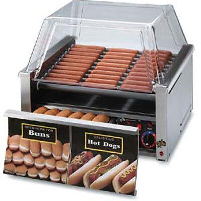 Hot Dog Roller With Bun Drawer Nonstick Roller 50 Dog 48 Bun Cap. 208240v
