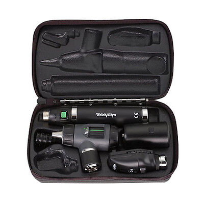 Welch Allyn Otoscope Opthalomscope Diagnostic Set Item 97200-ms New