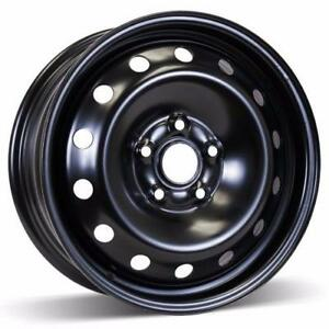 "4 used black steel wheel 16"" for Volkswagons"
