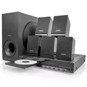 300 watt sony home theater system with built in dvd player