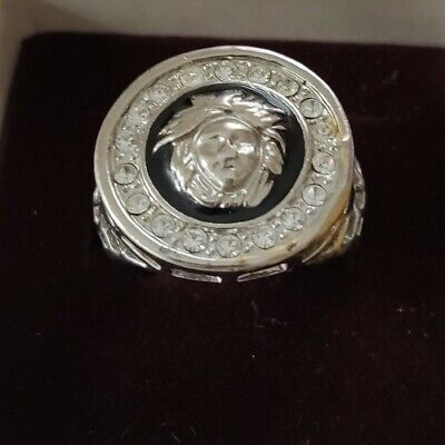 Men's Medusa Ring - Versace style