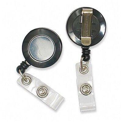 Baumgartens Metal Clip Retractable Id Reel - 68424