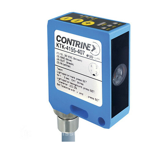 Contrinex KTK-4155-407 Color And Contrast Sensor MFGD