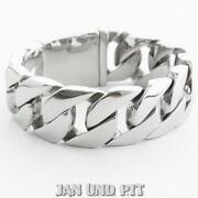 Armband Silber Breit