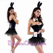 Playboy Bunny Fancy Dress Costume