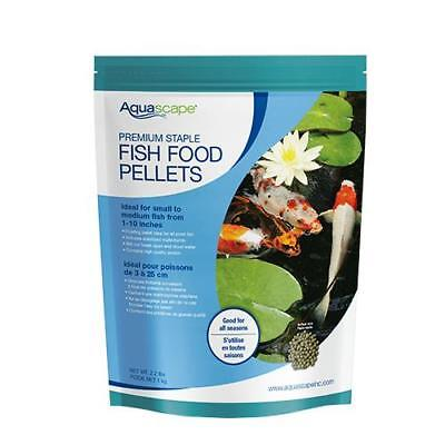 Aquascape Premium Staple Fish Food Pellets Medium Pellet 2.2 lbs. 98868