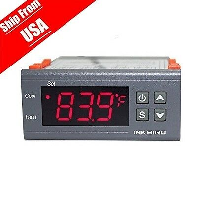 110v 10a Mini Digital Stc-1000 All-purpose Temperature Controller With Sensor