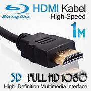 V1.4 HDMI Cable 1M Gold