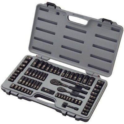 92-824HB 69-Piece Black Chrome Mechanics Tool Set