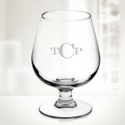 Personalized Brandy Glass Cup, 12oz - Personalized Glass Cups