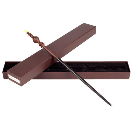 Your guide to harry potter collectible wands for Wooden dumbledore wand