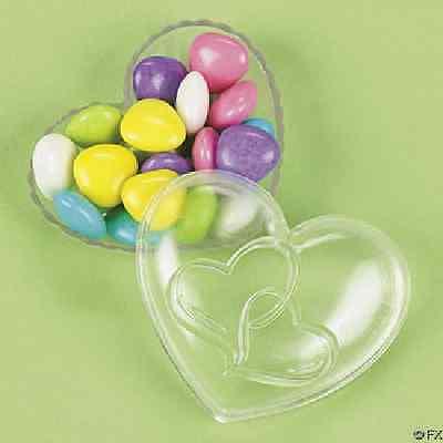 Heart-Shaped Favor Boxes 12 Pieces Wedding Favors - Heart Shaped Favor Boxes