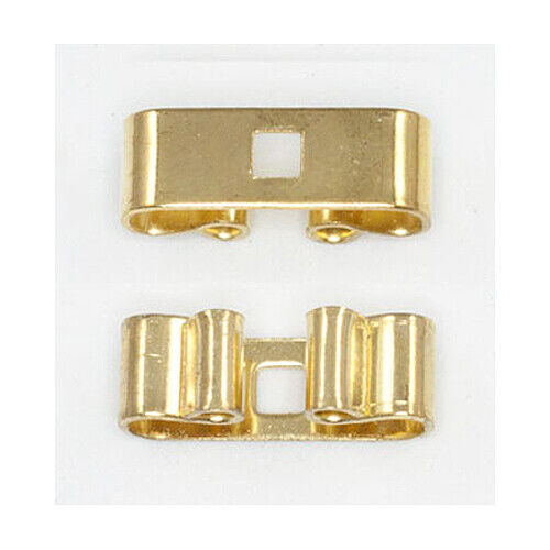 """Bolo Slide - Bar Base - 5/8"""" wide - Gold or Silver -  24 pc"""