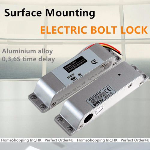 DC12V Electric Drop Bolt Lock Fail-Safe for Security Door Access Control System