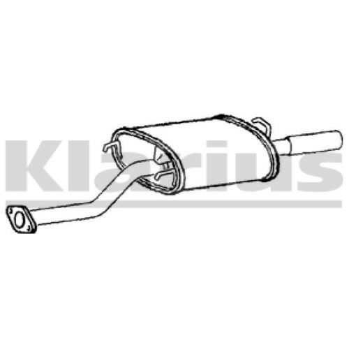 1x KLARIUS OE Quality Replacement Rear / End Silencer Exhaust For MG Petrol